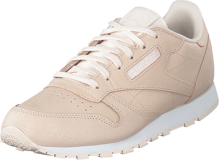 Classic Leather Pale Pink/white