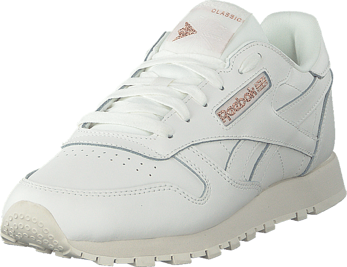 1ddf86f67ca Buy Reebok Classic Cl Lthr Chalk rose Gold paper grey Shoes Online ...