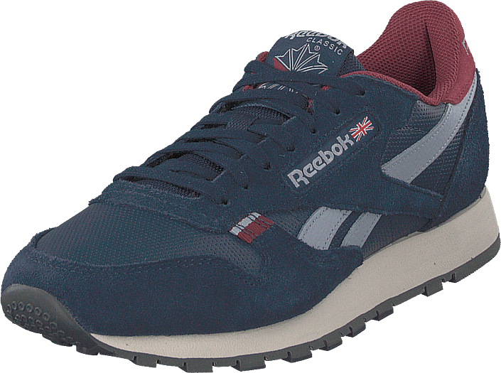 Reebok Classic - Cl Leather Mu Navy/red/stucco/grey