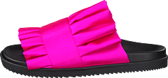 Joyce Bright Fuchsia Satin
