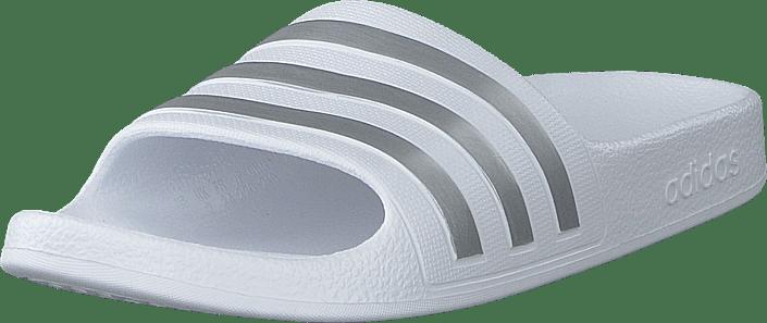adidas Sport Performance - Adilette Aqua K Ftwwht/silvmt/ftwwht