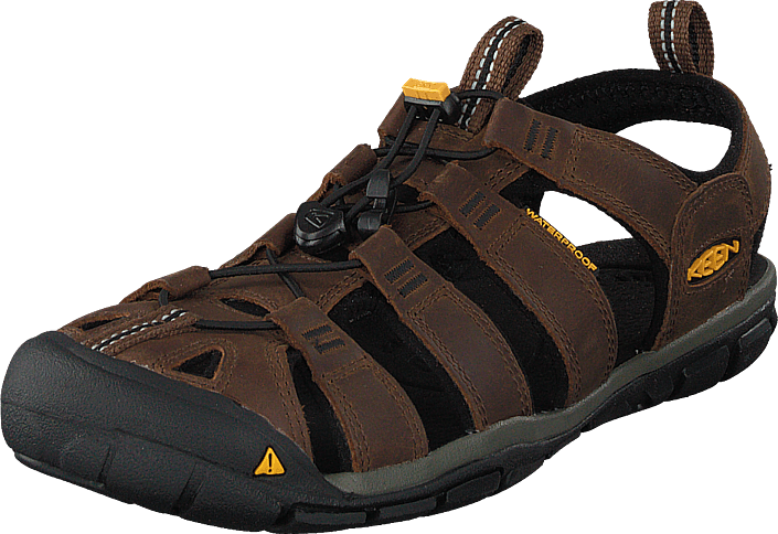 Keen - Clearwater Cnx Leather Dark Earth/black