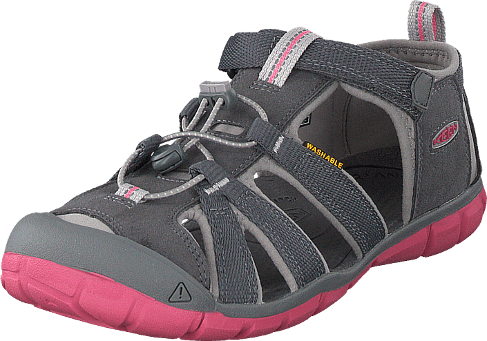 Keen - Seacamp Ii Cnx Jr Steel Grey/rapture Rose