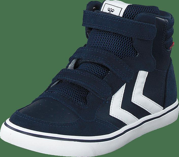 Hummel - Stadil Leather High Jr Black Iris
