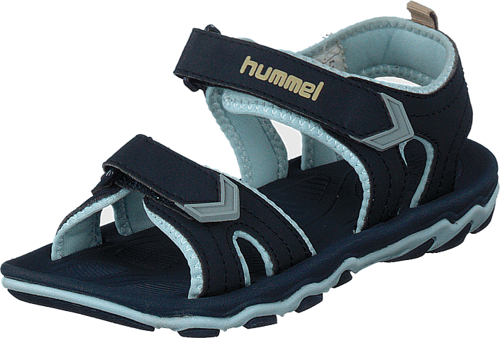 4c3e353d4c68 Køb Hummel Sandal Sport Jr Black Iris sorte Sko Online