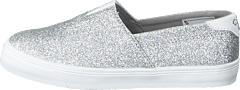Slip-on Ballerina Glitter Jr Silver