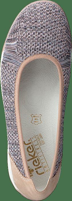 Kjøp Rieker M3050-91 Rosa Sko Online