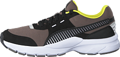 Future Runner Charcoal Gray-puma Black-white