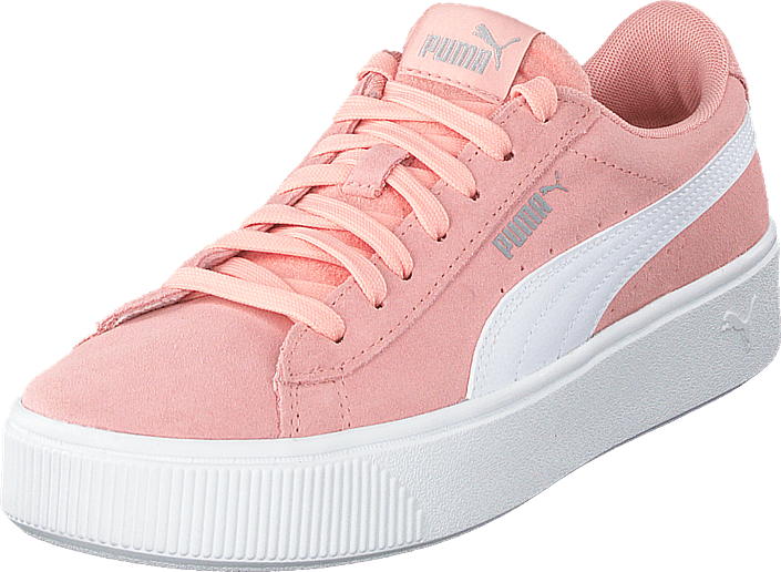 Puma - Puma Vikky Stacked Sd Peach Bud-puma White