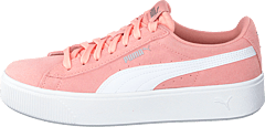 Puma Vikky Stacked Sd Peach Bud-puma White