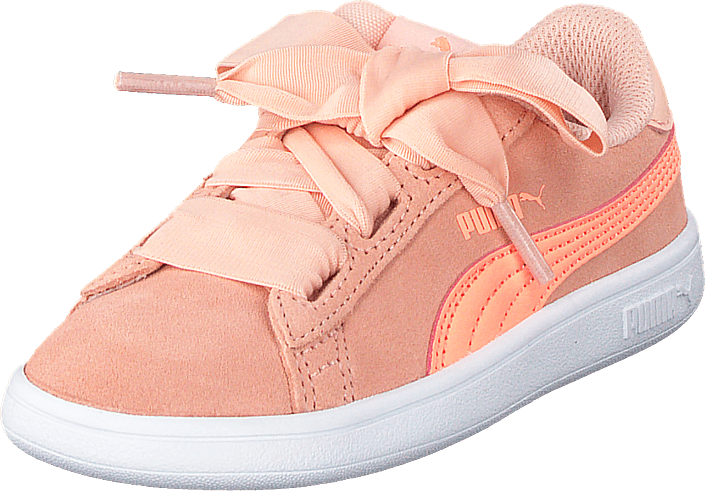 Puma Smash V2 Ribbon Inf Peach Bud bright Peach