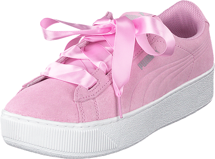 Puma - Puma Vikky Platform Ribbon Jr Pink
