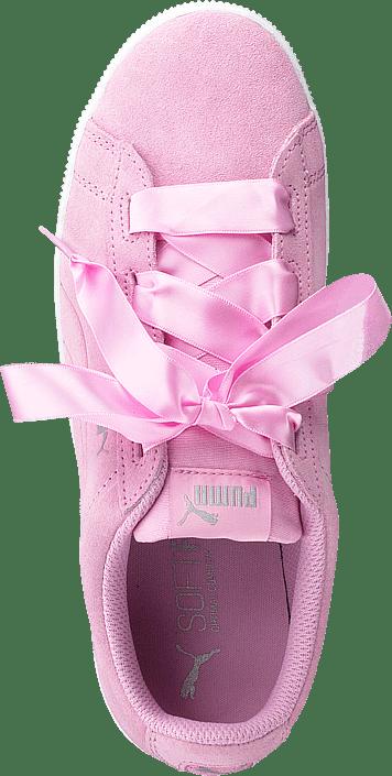 Puma Vikky Platform Ribbon Jr Pink