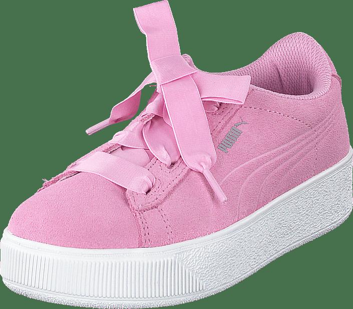 Puma Vikky Platform Ribbon Ps Pink