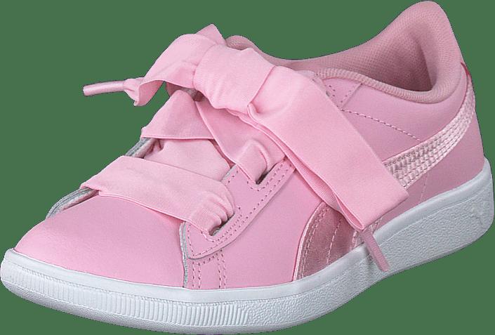 Puma - Puma Vikky Ribbon L Satin Ps Pale Pink-pale Pink