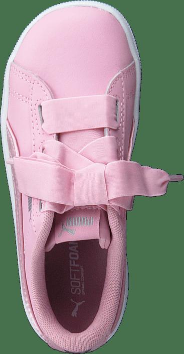 Puma Vikky Ribbon L Satin Inf Pale Pink pale Pink