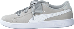 Puma Smash V2 Ribbon Jr Gray Violet-puma White
