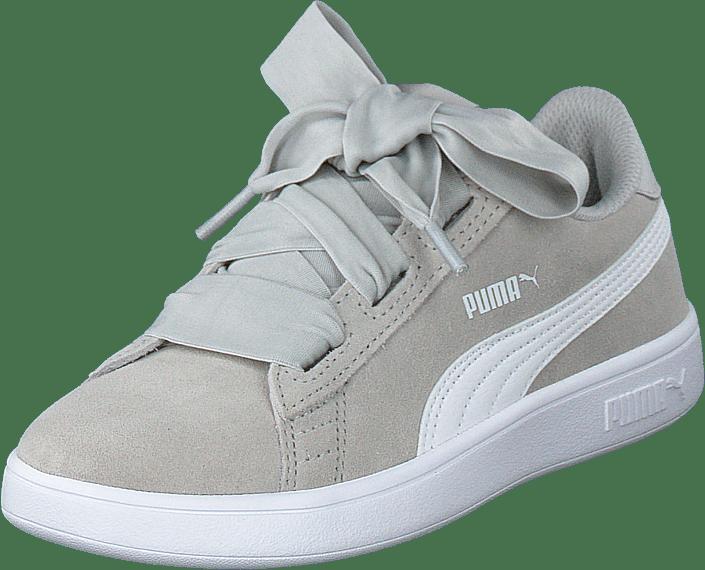 Puma Smash V2 Ribbon Ac Ps Gray Violet-puma White