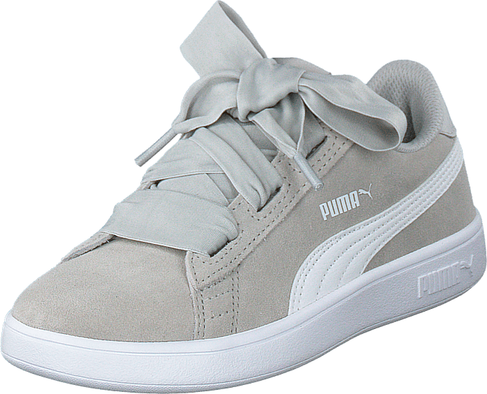 a8506be46f3 Köp Puma Puma Smash V2 Ribbon Ac Ps Gray Violet-puma White vita Skor ...