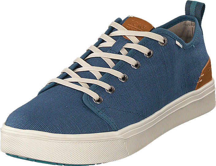 Toms - Airforce Blue Heritage Canvas Blue