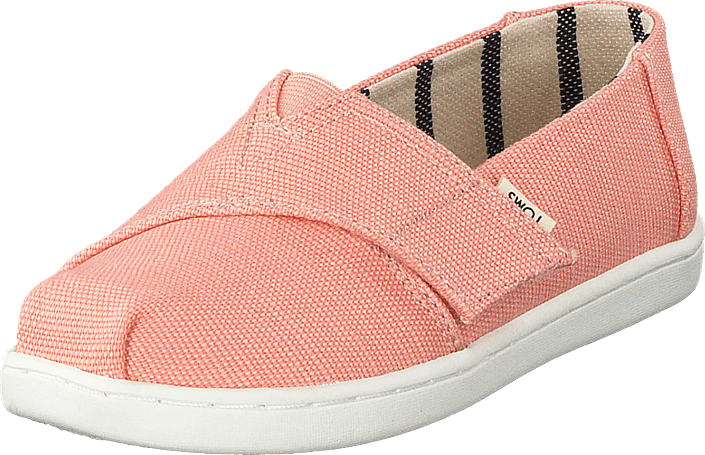 Toms - Coral Pink Heritage Canvas Coral