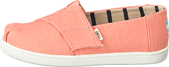 Coral Pink Heritage Canvas Coral