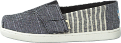 Black Cabana Stripe Grey