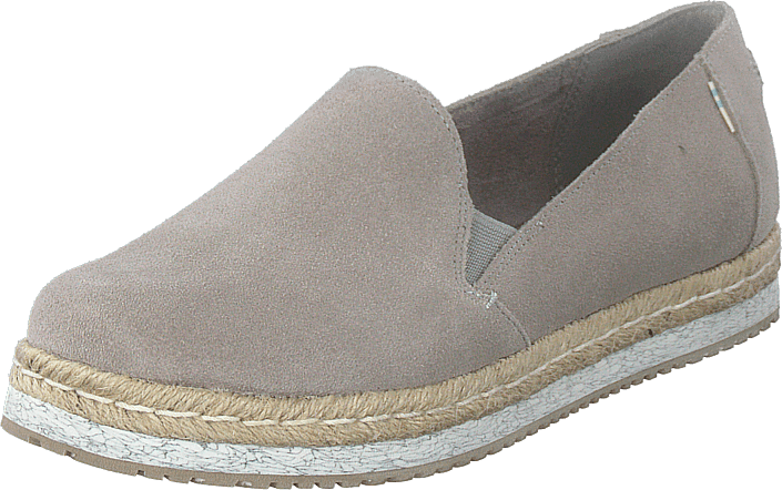 Toms - Drizzle Grey Suede Grey