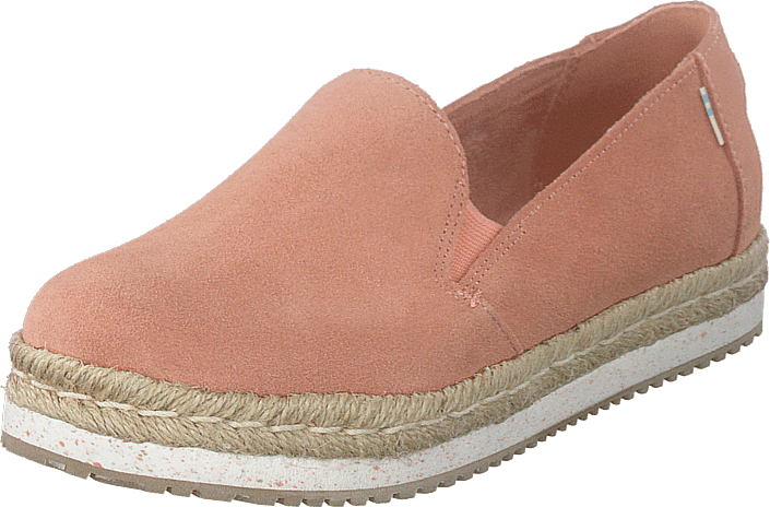 Toms - Coral Pink Suede Coral