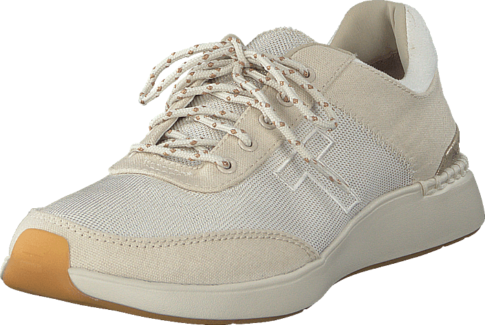 Toms - Birch Canvas Shiny Woven Beige