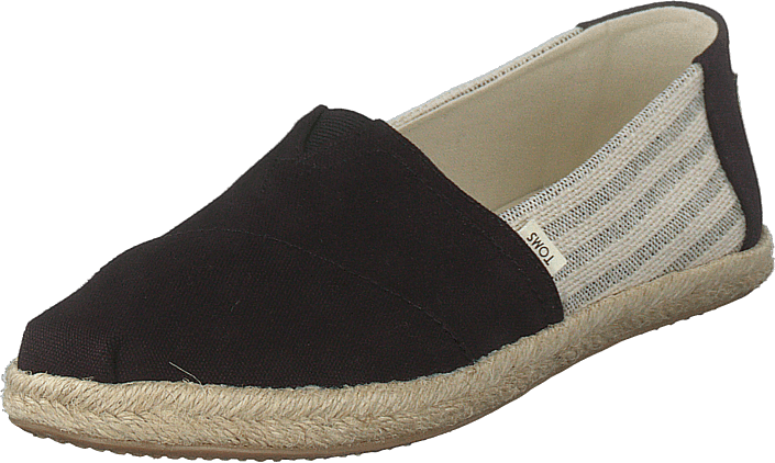 Toms - Black Canvas Ivy League Black