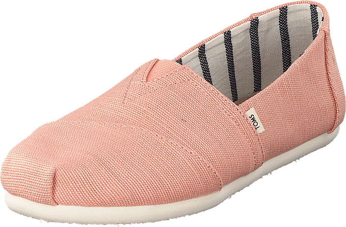 Coral Pink Heritage Canvas Coral Pink