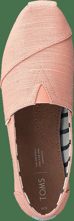 Kjøp Toms Coral Pink Heritage Canvas Sko Online