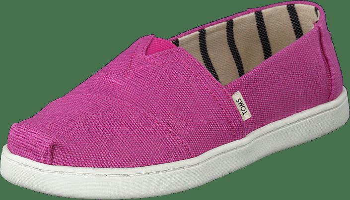 Toms - Rose Violet Heritage Canvas Pink