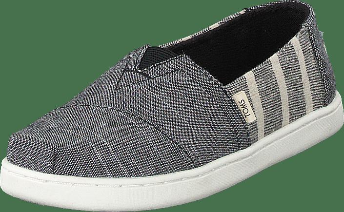 Black Cabana Stripe Grey