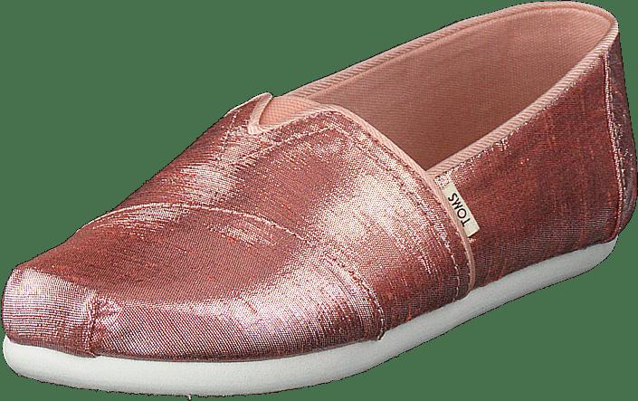 Persimmon Metallic Shantung Pink Metallic