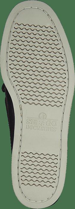 Sebago Docksides Portland Dark Brown Schuhe Kaufen Online