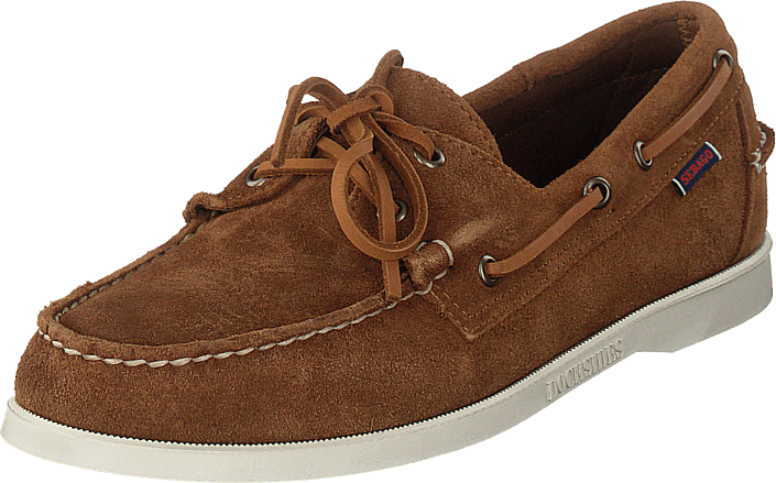 Sebago - DOCKSIDE PORTLAND SUEDE Brown Cognac