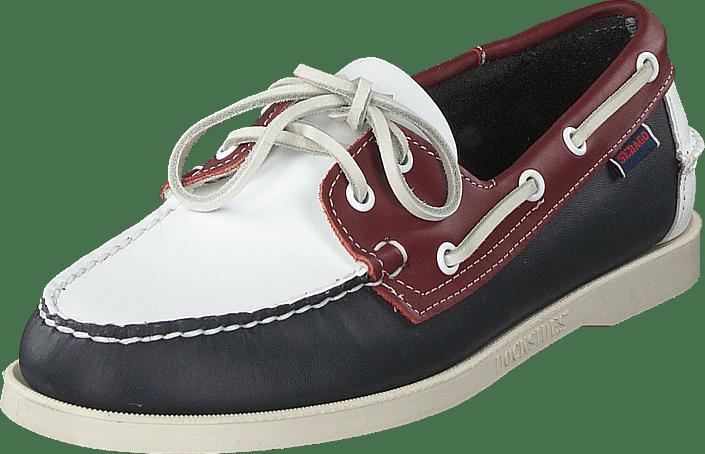 Sebago - Portland Spinnaker Navy/red/white