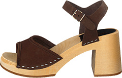 Inger Chocolate Brown Nubuck