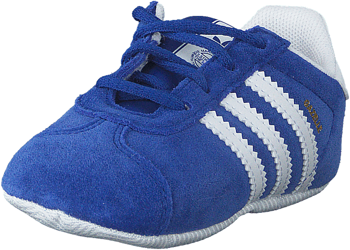 Buy adidas Originals Gazelle Crib Conavy ftwwht goldmt blue Shoes ... 770cd9856ac