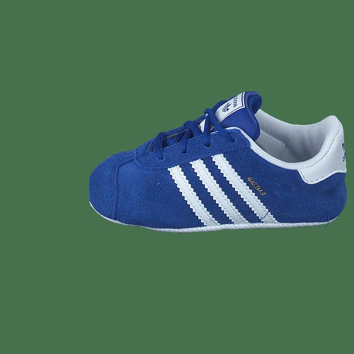check out 462a5 5165d Buy adidas Originals Gazelle Crib Conavyftwwhtgoldmt blue Shoes Online   FOOTWAY.co.uk