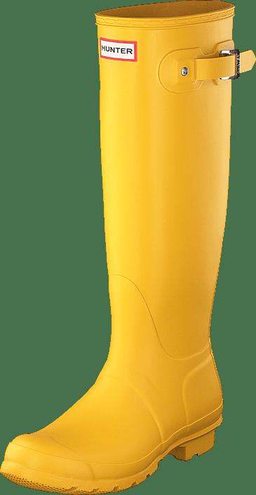 Hunter - Womens Original Tall Yellow