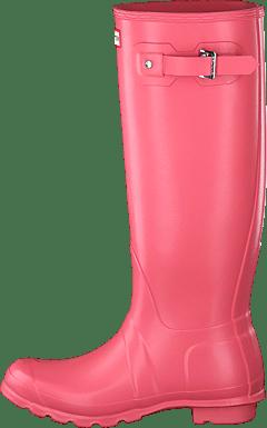 Womens Pink Refined Short Rain Boots | Official Hunter Boots