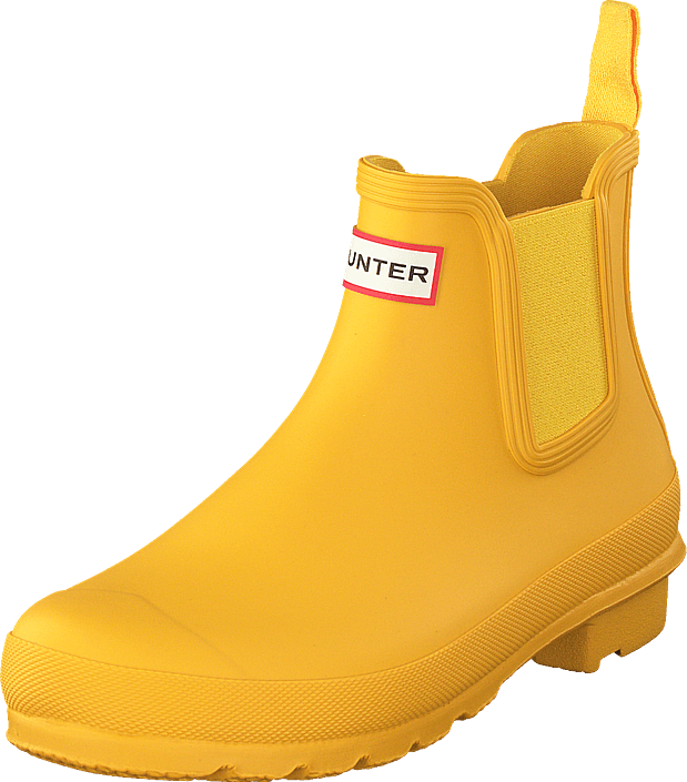 Hunter - Womens Original Chelsea Yellow