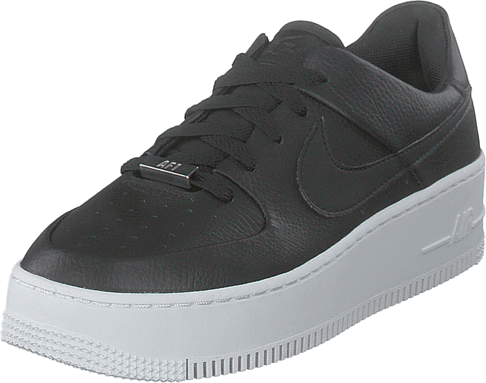 Nike - W Af1 Sage Low Black/black-white