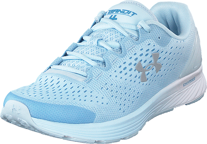 Under Armour - Ua W Charged Bandit 4 White/coded Blue/reflective