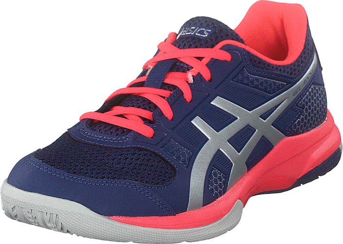 outlet store 7f747 83a26 Asics - Gel-rocket 8 Blue Print silver