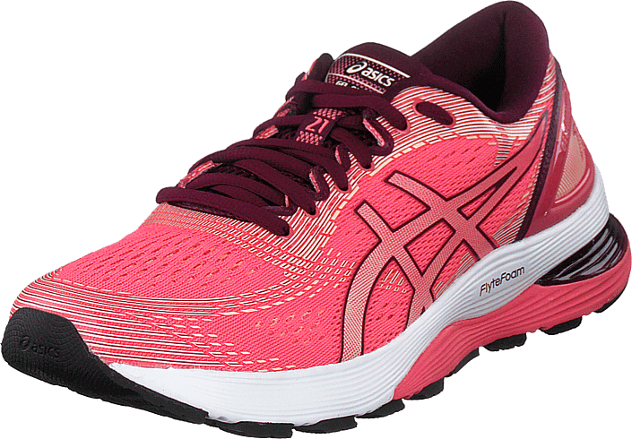 asics Gel Nimbus 21 Chaussures Femme, pink cameobakedpink