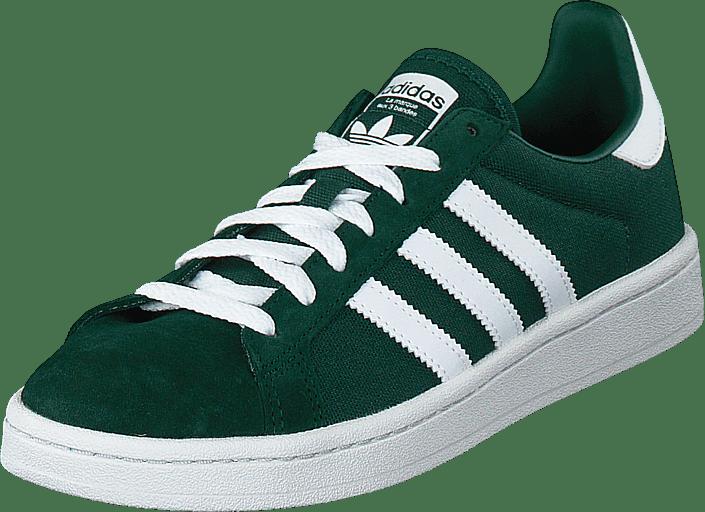 adidas Originals - Campus Cgreen/ftwwht/crywht